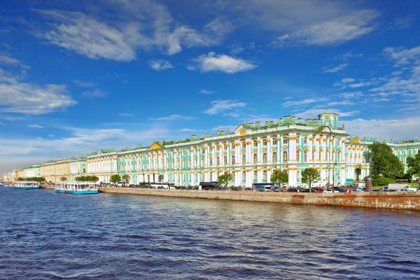 Обзорная экскурсия по Санкт-Петербургу с посещением Эрмитажа фото
