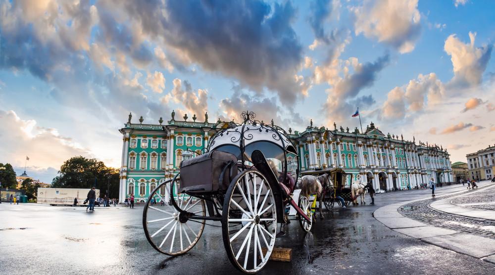 Обзорная экскурсия по Санкт-Петербургу с посещением Государственного Эрмитажа - фото №1