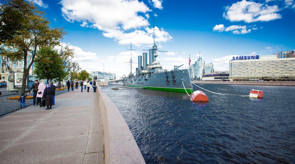 «РЕЧНОЙ EXPRESS» - экскукрсия с выходом в Финский залив - фото №1