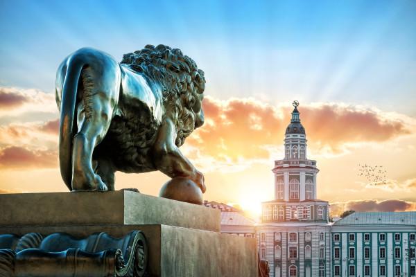 Львы стерегут город - тематическая экскурсия для детей фото