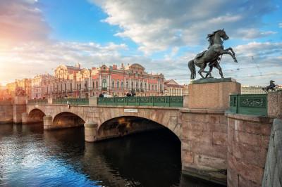 Аничков мост – фото достопримечательности вы увидите на экскурсии