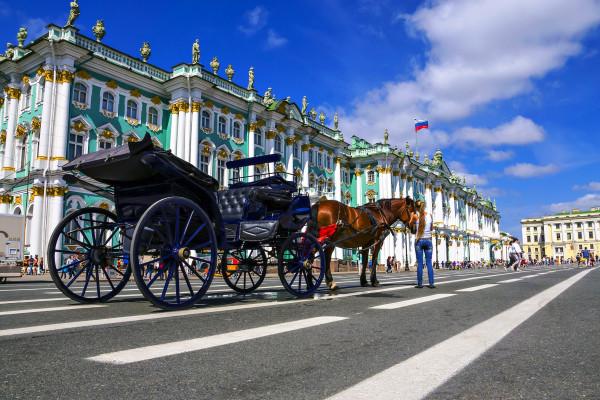 Обзорная экскурсия по Санкт-Петербургу с посещением Эрмитажа  – фото для каталога