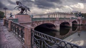 Аничков мост - уменьшенная копия фото №8
