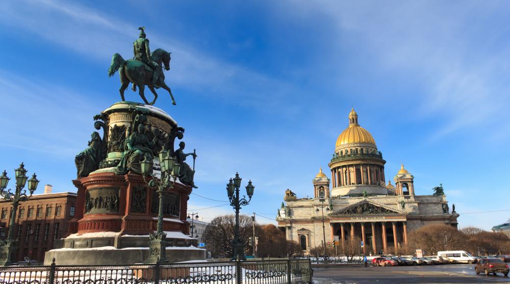 «Петербургский кругозор» - тур на 3 дня с экскурсией по городу и поездкой в Петергоф - фото №1
