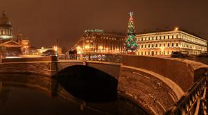 Новый год в Северной столице (комфорт) - 3-х дневный тур с новогодним ужином, экскурсией по городу и в Пушкин - уменьшенная копия фото №1