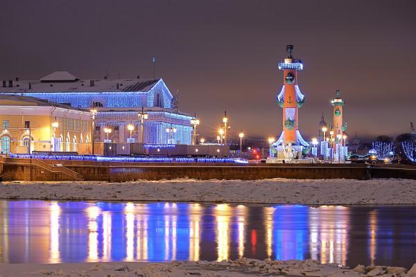 Новый год в центре Петербурга - автобусная экскурсия