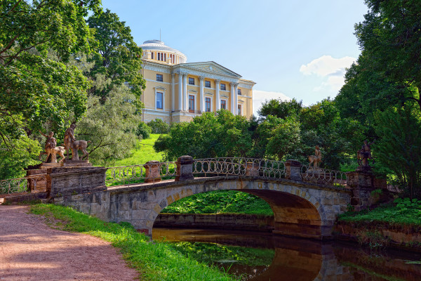 Блистательный Павловск - экскурсия на ретропоезде  – фото для каталога