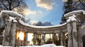 Колоннада Аполлона - уменьшенная копия фото №10
