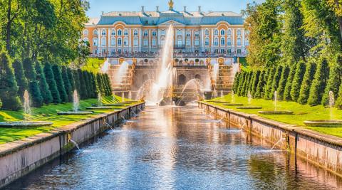 Экскурсии в Петергоф с посещением Большого дворца и фонтанов ...