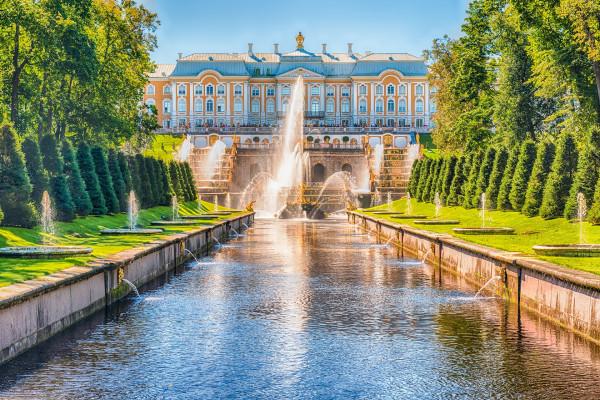 Петергоф (Большой дворец и фонтаны) - автобусная экскурсия