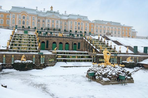 Петергоф (Большой дворец) - автобусная экскурсия