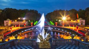 Осенний праздник закрытия фонтанов в Петергофе - уменьшенная копия фото №2