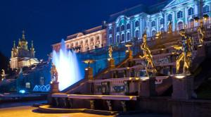 Осенний праздник закрытия фонтанов в Петергофе - уменьшенная копия фото №1