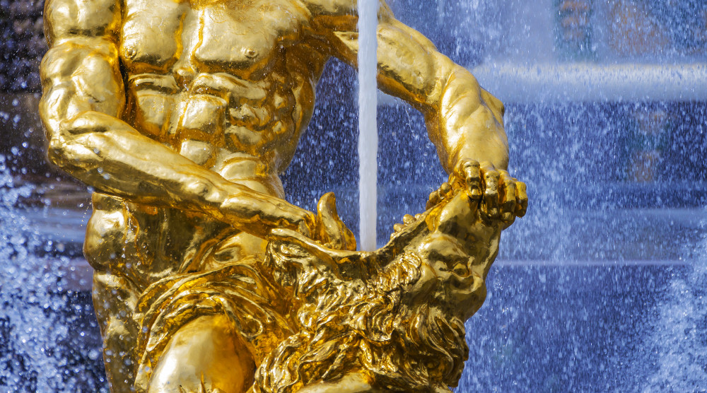 Экскурсия в Петергоф с посещением Большого дворца и фонтанов Нижнего парка - фото №1