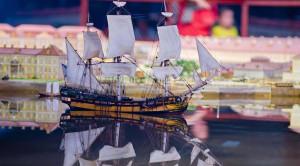 Музей-макет Петербурга и пригородов «Петровская акватория» - уменьшенная копия фото №9