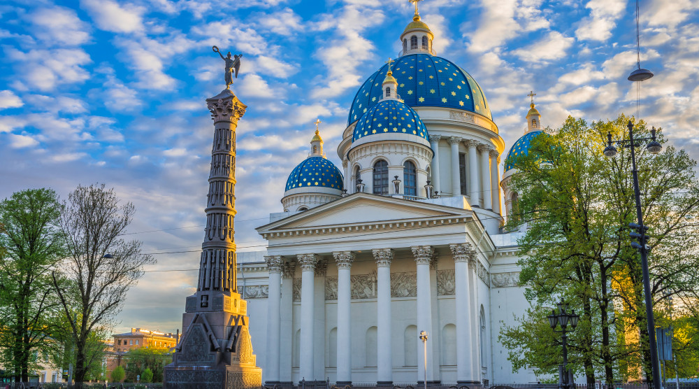 Православные храмы Петербурга - фото №1