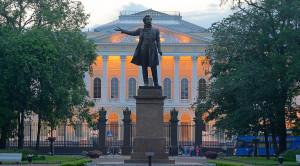 Памятник А.С.Пушкину в Санкт-Петербурге - уменьшенная копия фото №1