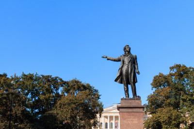 Памятник А.С.Пушкину – фото достопримечательности вы увидите на экскурсии