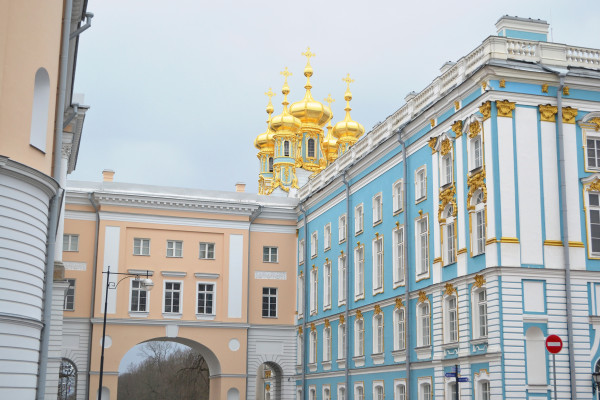 Экскурсия в Царское село (Екатерининский дворец и Царскосельский лицей)