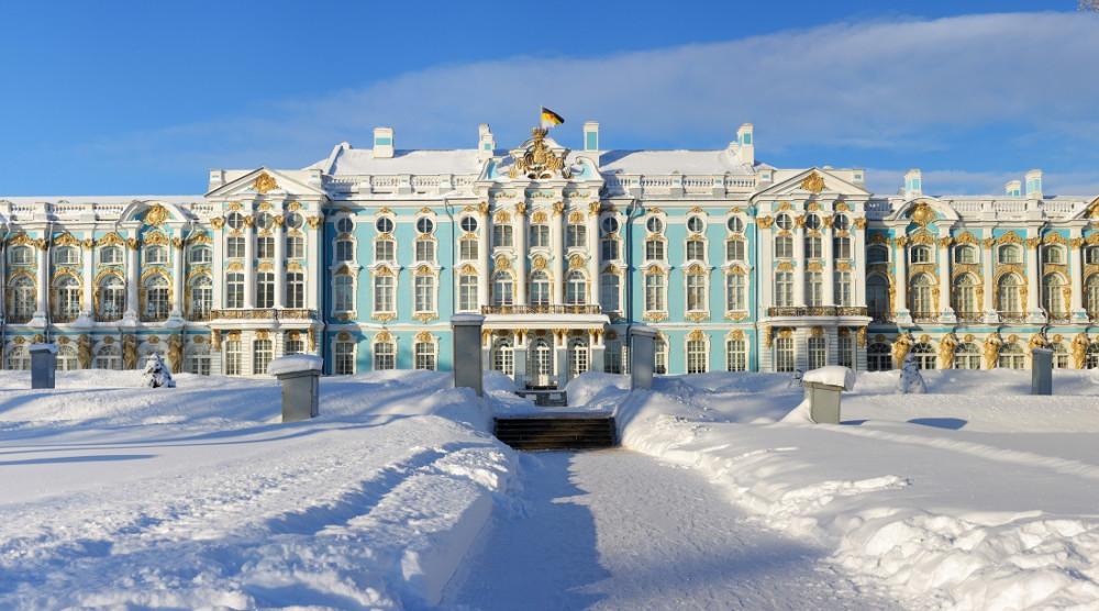 Экскурсия в Пушкин на английском языке с посещением Янтарной комнаты и парка - фото №1
