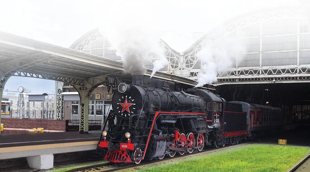 Прогулка на ретропроезде из Санкт-Петербурга - фото №1