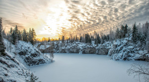 Тур в Карелию на 3 дня «Новогодняя сказка в Рускеала» - уменьшенная копия фото №2