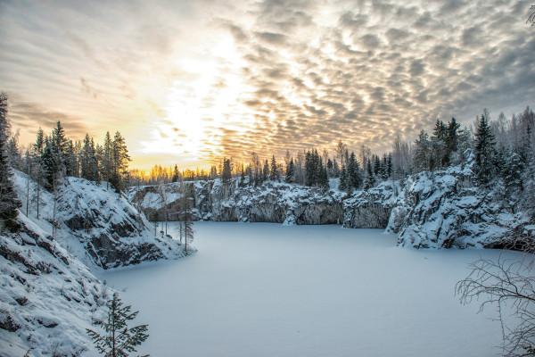 Большое новогоднее путешествие по Карелии - тур на 4 дня  – фото для каталога