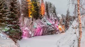 Тур в Карелию на 3 дня «Новогодняя сказка в Рускеала» - уменьшенная копия фото №7