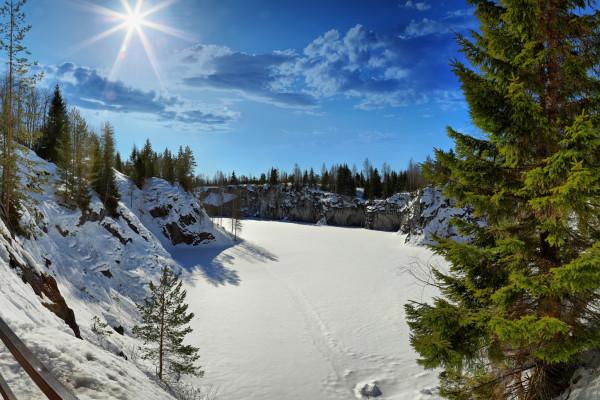 Новогодние приключения на Русском Севере - тур на 3 дня в Карелию  – фото для каталога