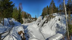 Тур в Карелию на 3 дня «Новогодняя сказка в Рускеала» - уменьшенная копия фото №8