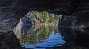Вечерний тур «Закаты Карелии и «Подземный космос» с посещением парка Рускеала - уменьшенная копия фото №5