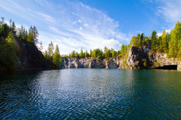 Карельские выходные: Рускеала и Сортавала - экскурсионный тур фото