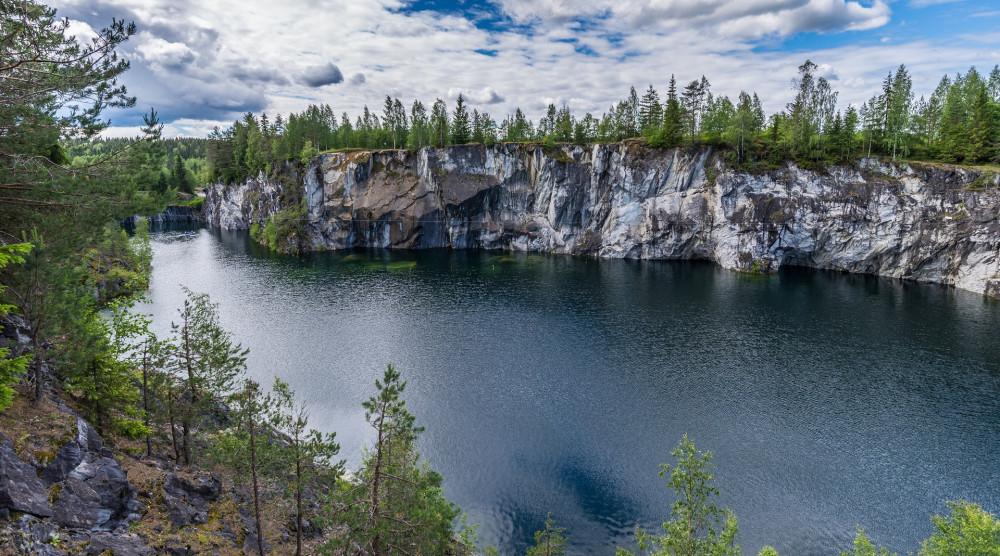 Однодневный тур «Жемчужина Карелии - Рускеала» с посещением мраморного каньона - фото №1