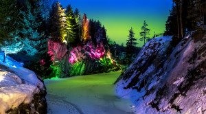 Тур в Карелию на 3 дня «Новогодняя сказка в Рускеала» - уменьшенная копия фото №3