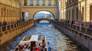 Англотуризмо - экскурсия по рекам и каналам на английском языке - уменьшенная копия фото №1