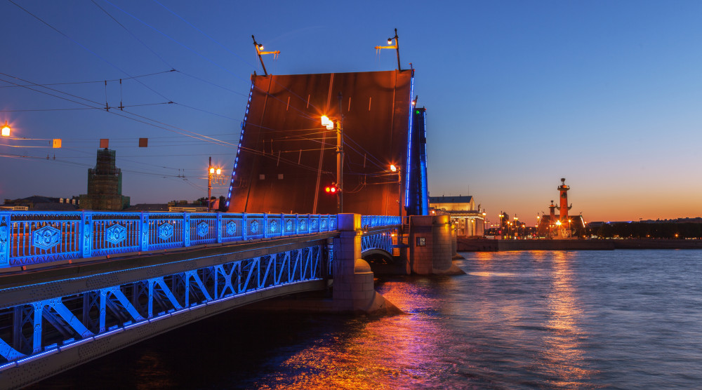 Разводные мосты Санкт-Петербурга - фото №1