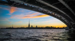 Джаз под разводными мостами - музыкальная водная прогулка - уменьшенная копия фото №1