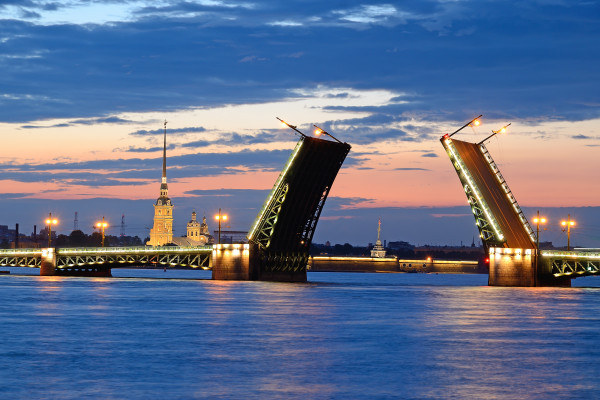 Ночной Петербург - экскурсия на теплоходе