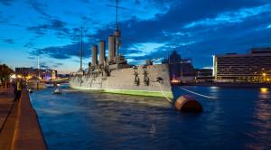 «Ночной Петербург» - экскурсионная прогулка по Неве - уменьшенная копия фото №2