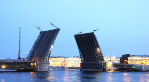 Разводные мосты Санкт-Петербурга - уменьшенная копия фото №6