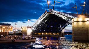 Разводные мосты Санкт-Петербурга - уменьшенная копия фото №5