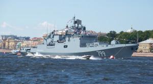 «Парад военных кораблей» - водная прогулка по Неве в день ВМФ - уменьшенная копия фото №9