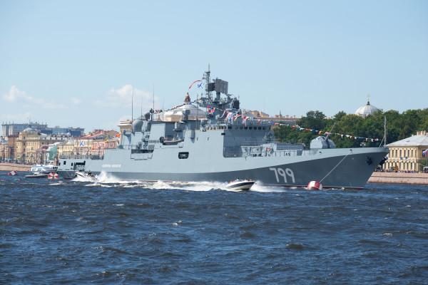 Экспресс-прогулка по Неве в день ВМФ на теплоходе  – фото для каталога