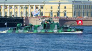 Просмотр парада военных кораблей в день ВМФ с Невы (VIP-зона) - уменьшенная копия фото №6