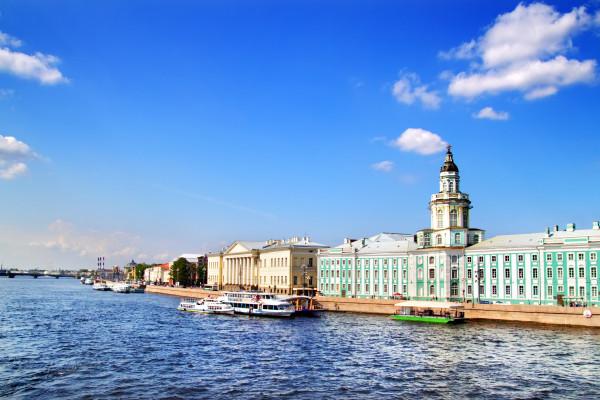 Обзорная экскурсия по Санкт-Петербургу с посещением Кунсткамеры фото
