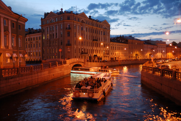 Anglotourismo Night - ночная экскурсия по рекам и каналам фото