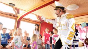 «Врунгель-шоу на Неве» - детская водная прогулка - уменьшенная копия фото №1