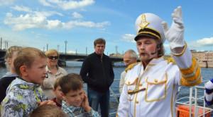 «Врунгель-шоу на Неве» - детская водная прогулка - уменьшенная копия фото №2