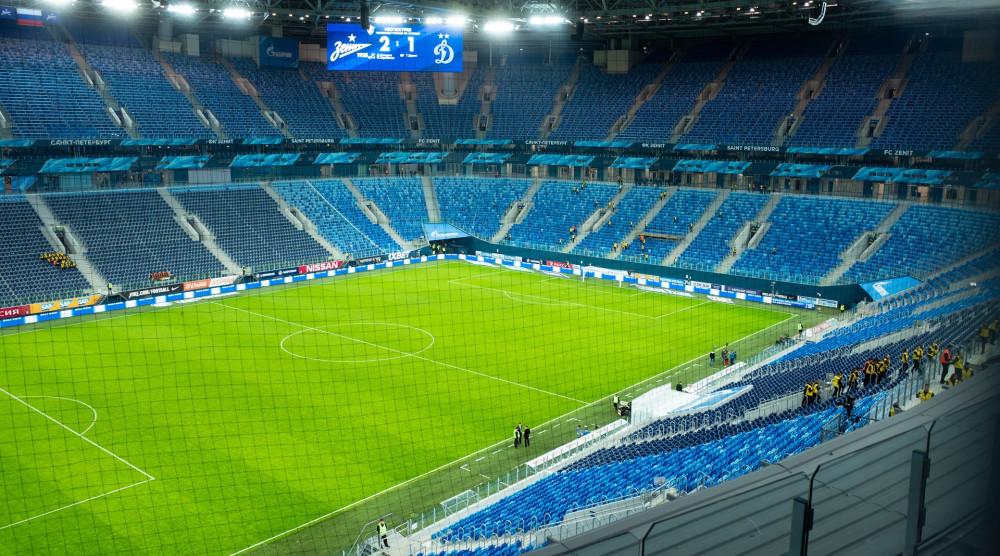 Экскурсия по стадиону «Санкт-Петербург» (Газпром Арена) - фото №1