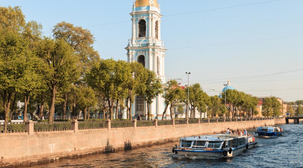 «Canal Cruise» - экскурсия по рекам и каналам Петербурга - фото №1